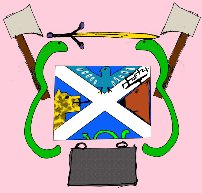 A new flag and coat of arms for Scotland?